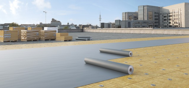 solutions of the sfs group in the area of flat roof and industrial lightweight construction