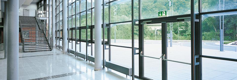 Pfosten Riegel Systeme Sfs Deutschland
